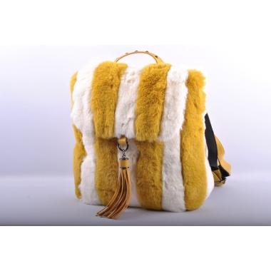 Naiste väike seljakott (karvane)